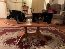Solid Oak Living room table set in Naperville, Illinois