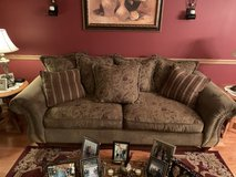 Living room couch in Batavia, Illinois