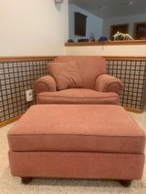 Ethan Allen Chair with Ottoman in Naperville, Illinois