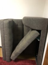 2 piece couch set (storage underneath both seats) in Okinawa, Japan