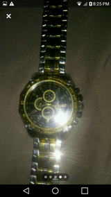 Nice Gold and Silver Men's Watch in Fort Campbell, Kentucky