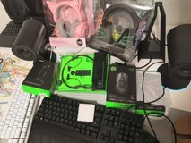 Razer Gaming Setup Mouse Keyboard Headset mic Headset Stand Mouse pad Everything in Ramstein, Germany