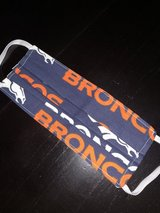 Broncos Face Mask in Travis AFB, California