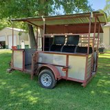 BBQ pit/smoker trailer in Houston, Texas