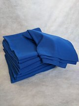 """50"""" square linen table cloth with flag toppers, or choice in Lakenheath, UK"""