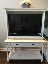 TV Vanity with or Without HD 60 Inch SMART TV in Naperville, Illinois