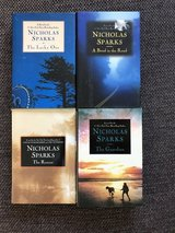 Nicholas Sparks Novels 2 - The Lucky One, A Bend in the Road, The Rescue, The Guardian in Ramstein, Germany