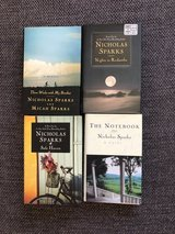 Nicholas Sparks Novels 4 - Safe Haven, The Guardian, Three Weeks with My Brother, The Notebook in Ramstein, Germany