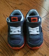 Orange/Dark Grey Nike Shoes, Toddler Size 7C in Clarksville, Tennessee