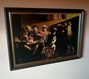 Caravaggio handpainted repro 67x47cm,framed in Ramstein, Germany