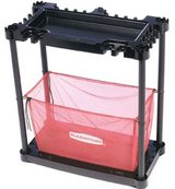 Rubbermaid Sports Gear Storage Station, Black / Red in Bolingbrook, Illinois