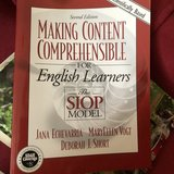 Making Content Comprehensible for ELs by Jana Echevarría in Aurora, Illinois