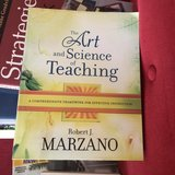 The Art and Science of Teaching by Robert J Marzano in Naperville, Illinois