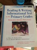 Reading & Writing Informational Text Primary Grades by Nell K Duke in Naperville, Illinois