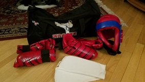 Martial Arts Sparring Gear PLUS Bag! in Naperville, Illinois