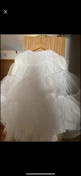 crinoline, wear under dress for bell shaped. Reduced price in Naperville, Illinois