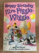 Happy birthday mrs Piggle-Wiggle in Okinawa, Japan