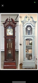 I have a vintage grandfather clock for sale. message me for pics and info in Naperville, Illinois