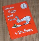 Vintage 1988 Dr Seuss Green Eggs and Ham Hard Cover I Can Read All My Myself Beginner Books in Plainfield, Illinois