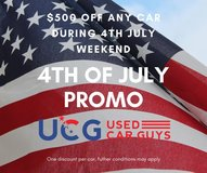 4th July Sale! $500 discount in Spangdahlem, Germany