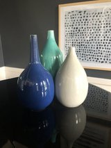 West Elm vases (all 3 included in price) in Naperville, Illinois