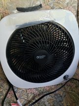 Small  10 - 11 inch Tilting Box Fan Used Two Weeks in Batavia, Illinois