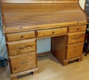 Oak finish Roll Top Desk in Alamogordo, New Mexico