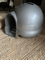Dome covered litter box in Kingwood, Texas