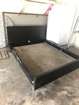 Queen Ikea Bed with Full Size Mattress and Box Spring in Kingwood, Texas