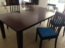 Large Wood Dining Room Table in Kingwood, Texas