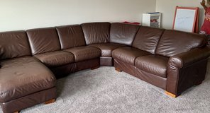 4 piece leather sectional in Kingwood, Texas
