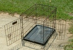 dog kennel wire cage 2 door small in Warner Robins, Georgia