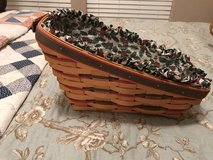 Longaberger basket with Green and Red in Kingwood, Texas