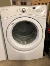Whirlpool Duet Washer and electric dryer in Camp Pendleton, California