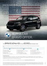 2021 BMW X5 xDrive 40i Exclusive Promotion!!! in Hohenfels, Germany