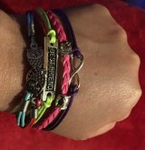 Bangle Bracelets Multi Layers Vintage Woven Rope Wrap in Spring, Texas