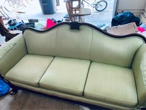 Pale green victorian couch in Camp Lejeune, North Carolina