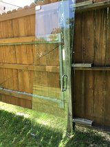 "Glass shower door 24"" panel 12"" x 77 1/2"" tall in Kingwood, Texas"