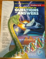Questions and answers book grades 4 through 8 in Yorkville, Illinois
