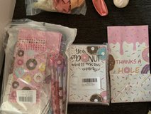 Free donut party supplies in Okinawa, Japan
