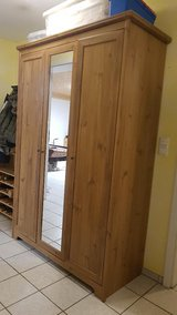 brown 3 door wardrobe in Grafenwoehr, GE