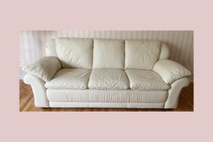 Leather Couch/Sofa in Plainfield, Illinois