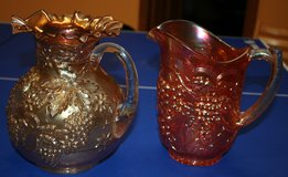Carnival Glass Pitchers in St. Charles, Illinois