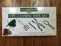 Granite Ware 4pc Canning Tool Set (missing funnel). in Naperville, Illinois