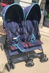 Double Stroller (Travel / Collapsable) in Naperville, Illinois