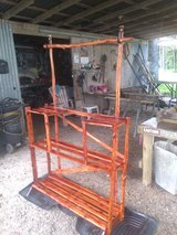 Plant stand in Fort Polk, Louisiana