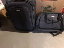 """Luggage (Embark) 2 piece set 20"""" and duffel bag 18"""" in Naperville, Illinois"""