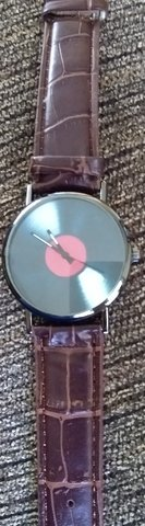 Unique record watch in St. Charles, Illinois
