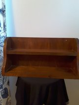 Wooden 2 tier shelf in Kingwood, Texas