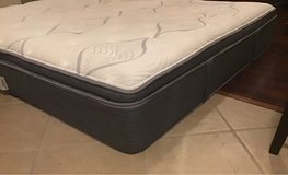 King Size Serta Medina Plush Mattress in Kingwood, Texas